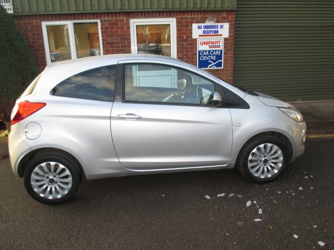 For Sale Ford Ka  Dr Hatchback Silver Low Mileage Crediton Crediton Car Centre