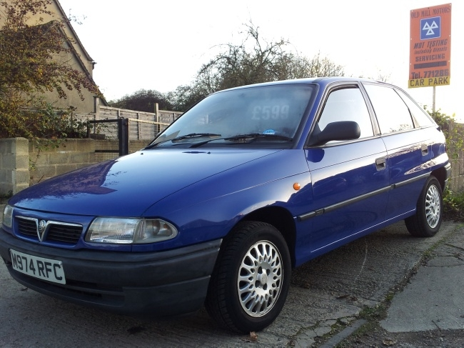 Vauxhall Astra 1 4 Witney Old Mill Motors